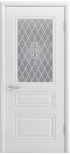 Дверь эмаль Трио ДО белый В1