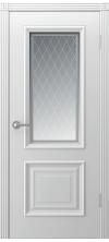 Дверь эмаль Акцент ДО белый