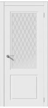 Дверь эмаль Нью-Йорк ДО белый