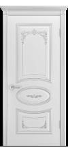 Дверь эмаль Ария B3 Грейс 2 ДГ белый