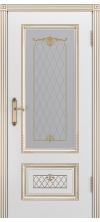 Дверь эмаль Аккорд В3 Грейс ДО белый