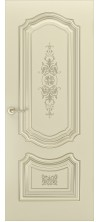 Дверь эмаль Соло R0 B3 ДГ шампань патина золото