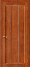 Межкомнатная дверь массив сосны Вега-19 Т-31 ДО Темный Орех