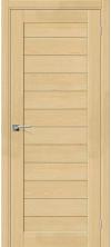 Межкомнатная дверь массив сосны Порта-21 ДГ Без отделки (СР)
