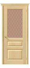 Межкомнатная дверь массив сосны М 5 ДО без отделки
