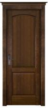 Межкомнатная дверь массив ольхи ОКА Фоборг ДГ античный орех
