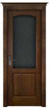 Межкомнатная дверь массив ольхи ОКА Фоборг ДО античный орех