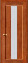 Межкомнатная дверь массив сосны Вега-18 Т-31 ДО Темный Орех