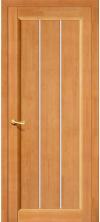Межкомнатная дверь массив сосны Вега-19 Т-30 ДО Светлый Орех