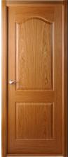 Дверь межкомнатная Капричеза глухая цвет дуб