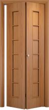 Складная дверь Лесенка ДГ миланский орех