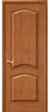 Межкомнатная дверь из массива М7 глухая светлый лак т-05