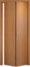 Складная дверь Гладкая ДГ миланский орех