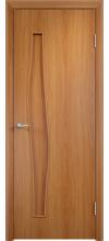 Дверь Волна ДГ миланский орех
