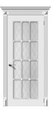 Дверь эмалированная Порта 2 ДО белый
