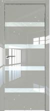 Дверь Профиль Дорс 26LK AL кромка с 4х сторон Галька люкс со стеклом