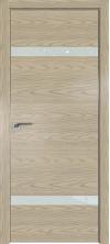 Дверь Профиль Дорс 3NK AL кромка с 4х сторон Дуб скай крем со стеклом