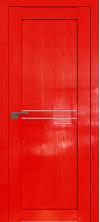 Дверь Профиль Дорс 2.55STP Pine Red glossy со стеклом