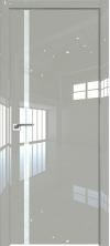 Дверь Профиль Дорс 22LK ABS кромка с 4х сторон Галька люкс со стеклом