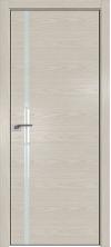Дверь Профиль Дорс 22NK ABS кромка с 4х сторон Дуб скай беленый со стеклом