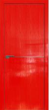 Дверь Профиль Дорс 12STK AL кромка с 4х сторон Pine Red glossy