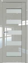 Дверь Профиль Дорс 29L Галька люкс со стеклом