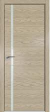 Дверь Профиль Дорс 22NK ABS кромка с 4х сторон Дуб скай крем со стеклом