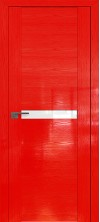 Дверь Профиль Дорс 2.01STP Pine Red glossy со стеклом