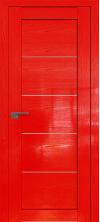 Дверь Профиль Дорс 2.11STP Pine Red glossy со стеклом
