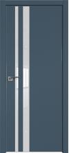 Дверь Профиль Дорс 16Е ABS кромка с 4х сторон Антрацит со стеклом