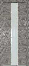 Дверь Профиль Дорс 25NK ABS кромка с 4х сторон Дуб скай деним со стеклом