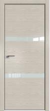 Дверь Профиль Дорс 30NK AL кромка с 4х сторон Дуб скай беленый со стеклом