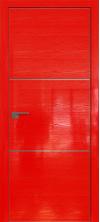 Дверь Профиль Дорс 2STK AL кромка с 4х сторон Pine Red glossy