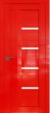 Дверь Профиль Дорс 2.08STP Pine Red glossy со стеклом
