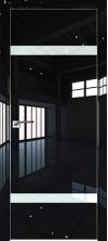 Дверь Профиль Дорс 3LK AL кромка с 4х сторон Черный люкс со стеклом
