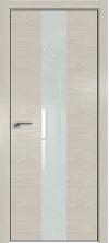 Дверь Профиль Дорс 25NK ABS кромка с 4х сторон Дуб скай беленый со стеклом