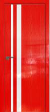 Дверь Профиль Дорс 16STK AL кромка с 4х сторон Pine Red glossy