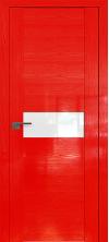 Дверь Профиль Дорс 2.05STP Pine Red glossy со стеклом