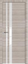 Дверь Профиль Дорс 16Z Капуччино кроскут со стеклом