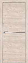 Дверь Профиль Дорс 12ZN AL крм с 4х сторон Каштан светлый глухая