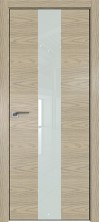 Дверь Профиль Дорс 25NK ABS кромка с 4х сторон Дуб скай крем со стеклом