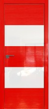 Дверь Профиль Дорс 10STK AL кромка с 4х сторон Pine Red glossy