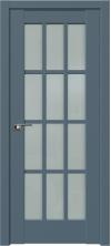 Дверь Профиль Дорс 102U Антрацит со стеклом