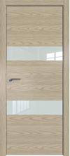 Дверь Профиль Дорс 34NK AL кромка с 4х сторон Дуб скай крем со стеклом