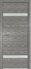 Дверь Профиль Дорс 3NK AL кромка с 4х сторон Дуб скай деним со стеклом