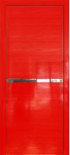 Дверь Профиль Дорс 11STK AL кромка с 4х сторон Pine Red glossy