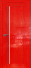 Дверь Профиль Дорс 2.50STP Pine Red glossy со стеклом