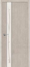 Межкомнатная дверь Глейс-1 Twig ДО 3д Капучино