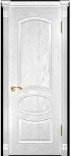 Дверь эмаль Грация ДГ дуб белая