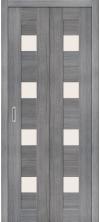 Складная дверь Порта 23 ДС grey veralinga